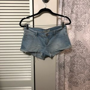 Hollister Low-Rise Jean Shorts